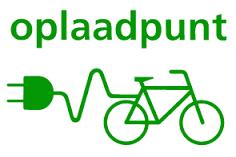 Fiets Oplaadpunt - Elektrische fiets opladen op ons terras!