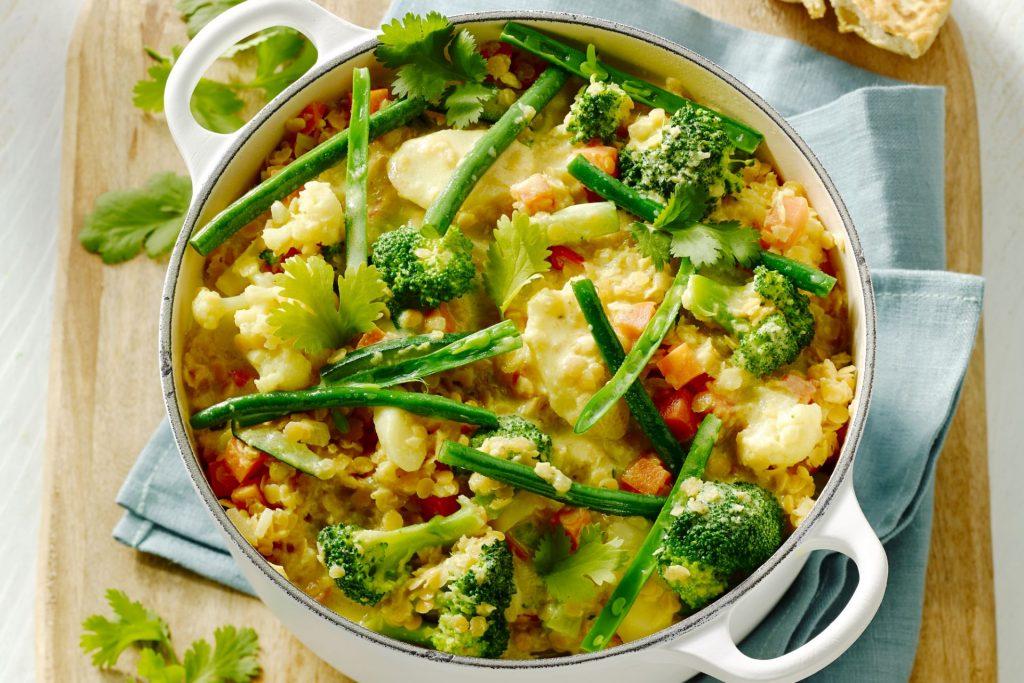 vegetarische kaart diner